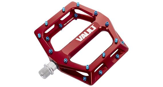 DMR Vault bmx pedalen rood